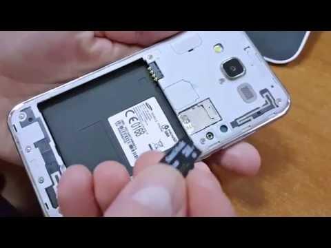 samsung j5 sd karte Galaxy J5   How to insert micro SD card   YouTube