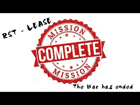 RST Mission Complete : Drivers got their answers about  RST the lease