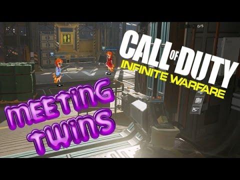 Metting And Trolling Twins - Infinite Warfare Gameplay (PS4)