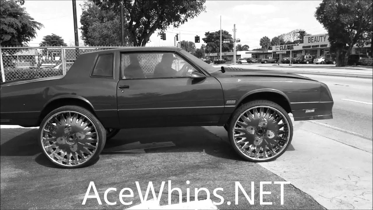 Acewhips Net Chevy Monte Carlo Ss On 30 Quot Asantis In The