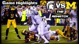 Michigan vs Michigan State - Full Game Highlights