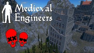 Tower of Babylon Part 4 | Building Vader Hall #24 | Medieval Engineers