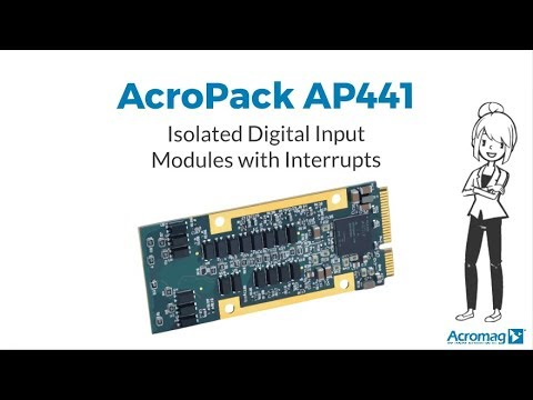Acromag AP441 Isolated Digital Input Modules with Interrupts