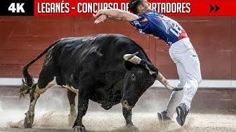 Imagen del video: RECORTES: Concurso en Leganés con toros de Monteviejo