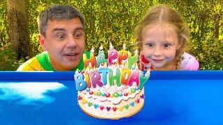 ناستيا وأبي يحتفلان بأعياد ميلادهما, فيديوهات أعياد الميلاد
