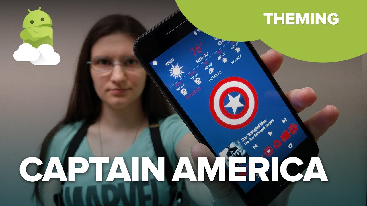 Kick ass with our Captain America: Civil War themes | Android Central