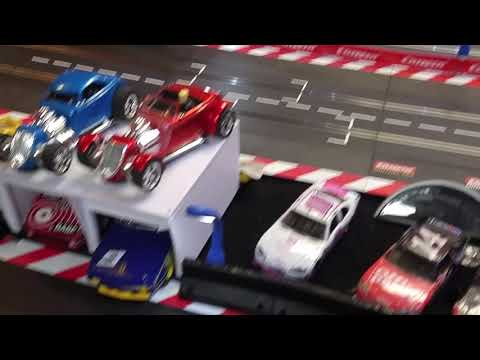 Slot Car Track Lighting Ideas from Slot Car Space Sollutions