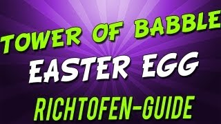[Easter Egg] BO2 Zombie Tranzit: Full Richtofen Tower of Babble GUIDE