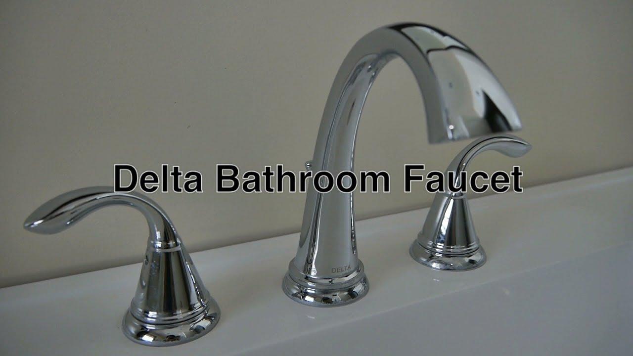 Delta Bathroom Faucets 3 Hole Widespread No Leaky Water