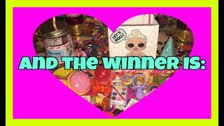 LOL Surprise Dolls Party Swag Bag Giveaway Winner Announced For First 10 New Subs!