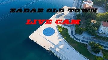 Zadar Old Town Live Cam #Croatia #Zadar #TOPDESTINATION