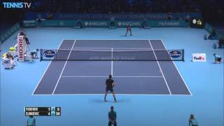 Djokovic Rips A Hot Shot In London