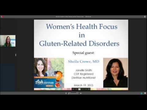 Women's Health & Celiac Disease with Dr Sheila Crowe  (2 of 2)