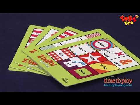 ThinkFun Zingo İngilizce Kelime Oyunu (İngilizce Kelime Tombala)