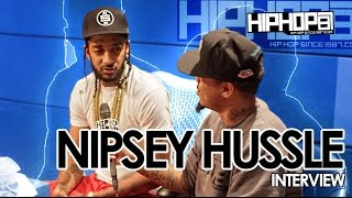 Nipsey Hussle Talks Victory Lap, Marathon Clothing, Working In ATL, Label Deals & More