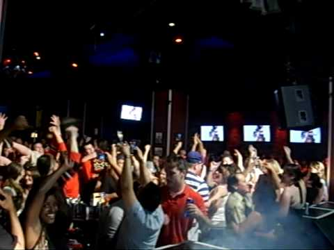 Chicago Blackhawks score the winning goal and the fans go crazy and celebrate! At the Cubby Bear