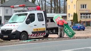 Niebezpieczne skrzyżowanie w centrum Szprotawy