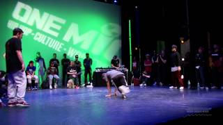 Top Notch B-boy / B-girl Battle: Semi-Finals Part 1