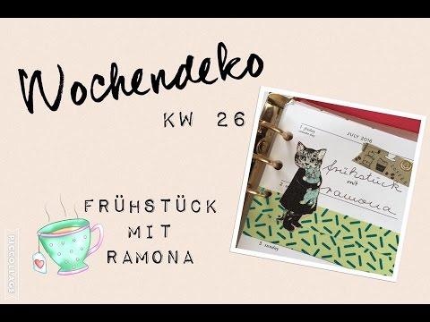 Kate Spade Wochendeko KW 26 | Plan with me | deutsch | filolove_