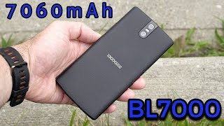 a 7060mAh Battery Monster - Doogee BL7000 Smartphone Review
