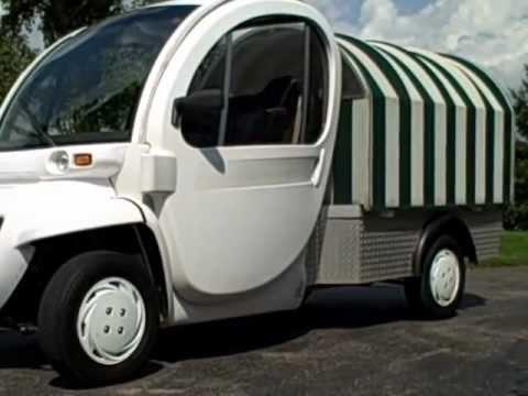 2005 Gem Electric Golf Cart Utility Truck Model El 72 Volts Street Legal