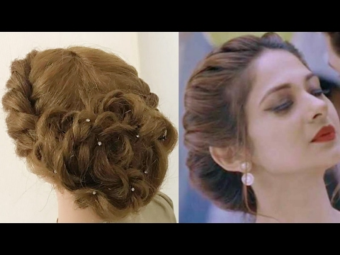 style hair for party beautiful twist hairstyle easy hairstyles 6987 | hqdefault