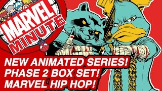 New Animated Series! Phase 2 Box Set! Marvel Hip Hop! - Marvel Minute 2015