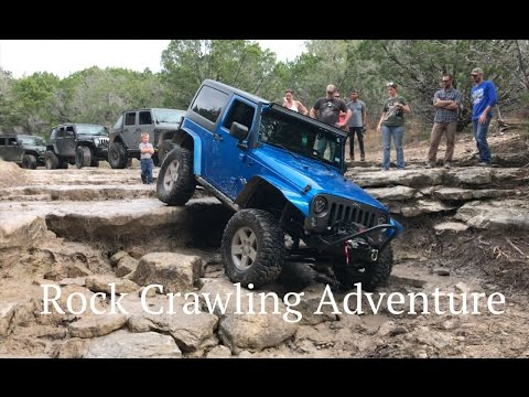 Amazing Offroad Rock Crawling Adventure - Hidden Falls Adventure Park, Texas - Wheeling Wednesday 1