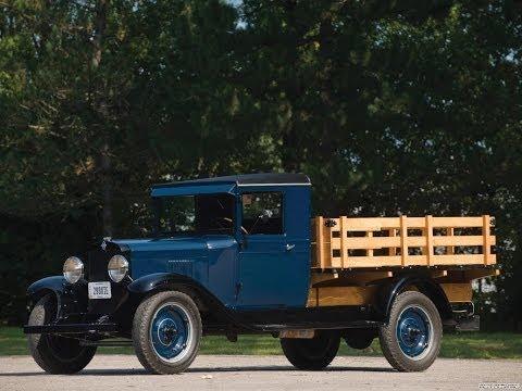 677. Старые автомобили Chevrolet