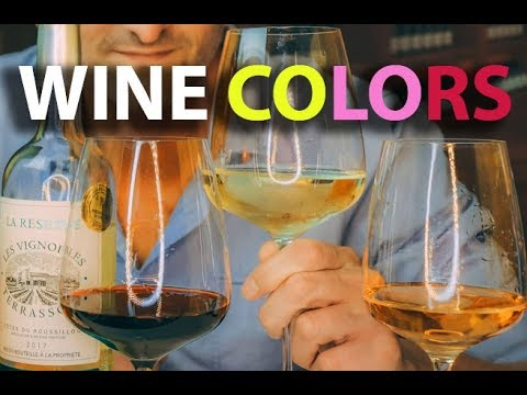 wine article The Colors of Wine Explained