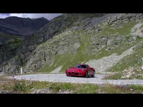 L'Alfa Romeo 4C sur route !
