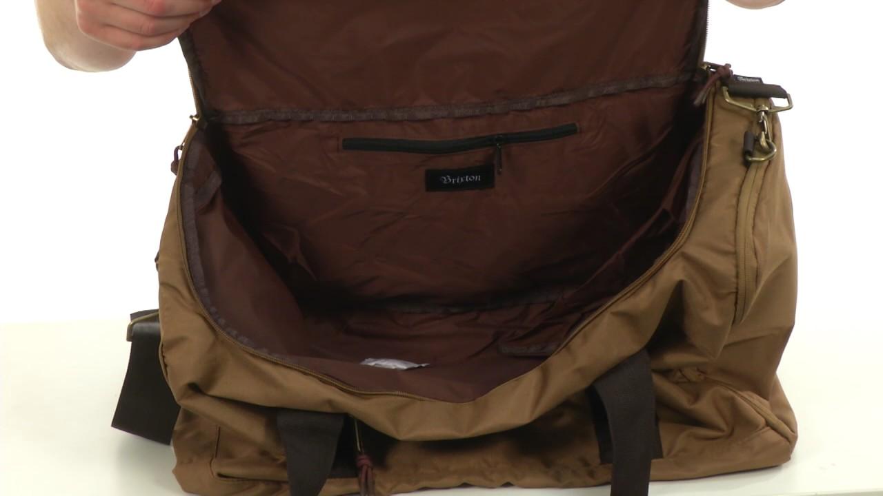 Brixton Packer Bag SKU 8833555 - YouTube 0bc2d6a7a6fda