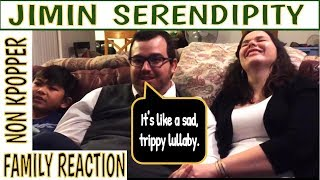 Download Non Kpopper Family Reacts Part 5: BTS/JIMIN Serendipity MP3 song and Music Video