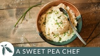 Cauliflower Mashed Potatoes | A Sweet Pea Chef