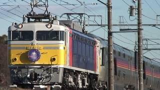 2008年1月3日 JR東日本 東北本線 蓮田~東大宮 EF81 + E26系.