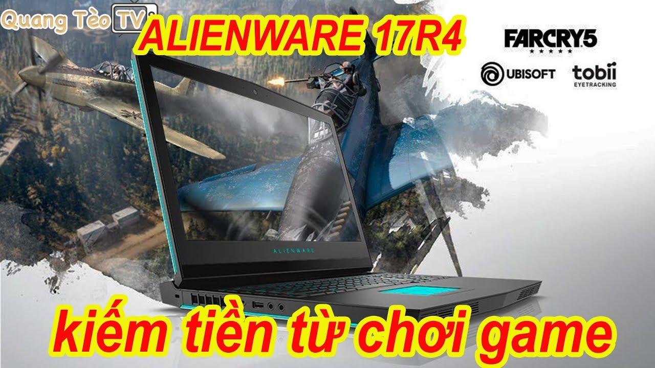 Đánh giá Dell Alienware 17 R4 | Laptop Gaming 30 triệu