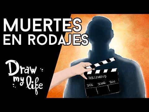 Las PEORES MUERTES en SET de RODAJES - Draw My Life en Español