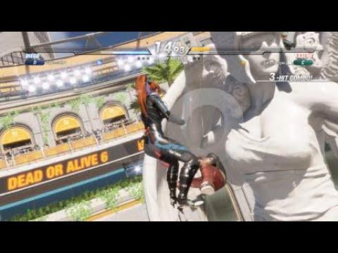 DOA6 Beta stage glitch