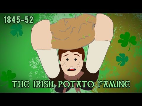 The Irish Potato Famine (1845–1852)