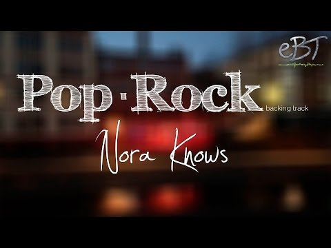 Pop/Rock Backing Track in C Major | 100 bpm