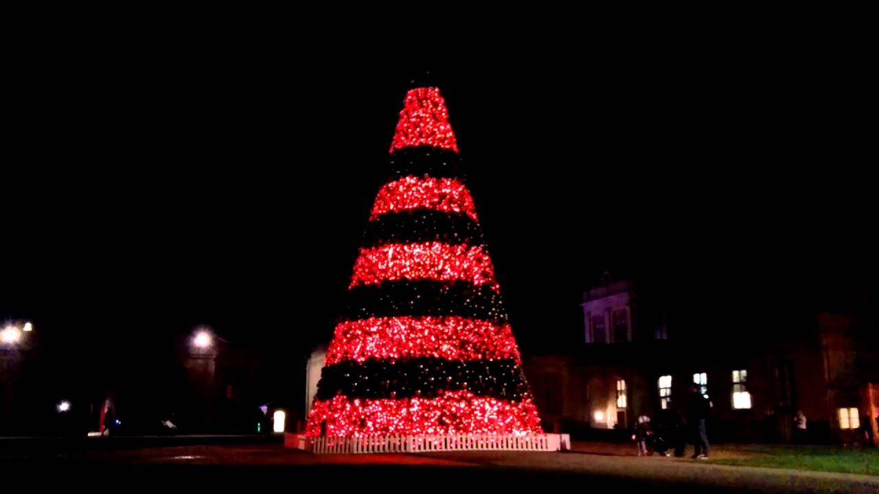 Longleat Singing Christmas Tree