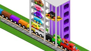 colors for children to learn with street vehicles colours for kids to learn learning videos