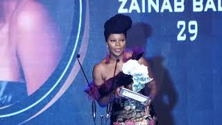 Zainab Balogun Award Speech