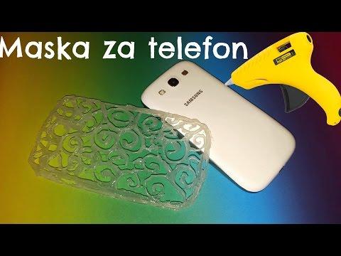 Kako napraviti silikonsku masku za telefon