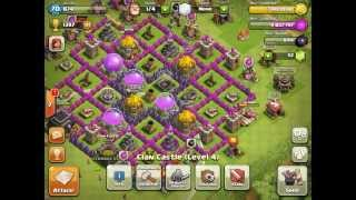 Clash of clans-level 9 setup farmer
