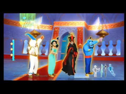 Just Dance 2014 Wii - Disney's Aladdin - Prince Ali