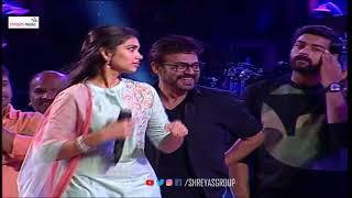 Victory Venkatesh & Varun Tej Lovely Live Dance Performance