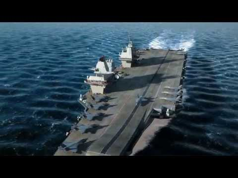 HMS Queen Elizabeth - The Future of the Royal Navy