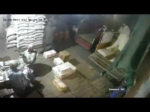 Lahore Bank Robbery CCTV footage