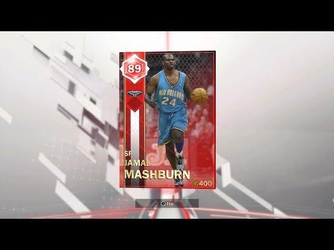 Pelicans Current Collection Complete: Ruby Jamal Mashburn Reward (NBA 2K18: MyTeam)